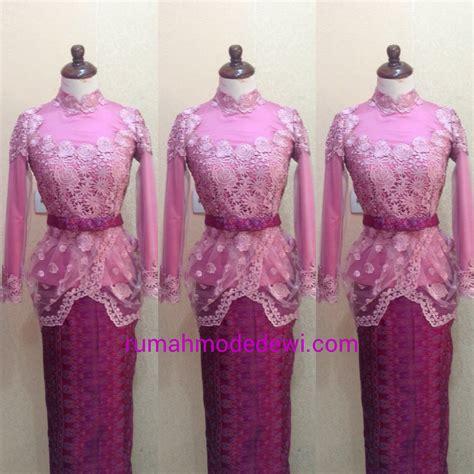 Kebaya Modern Kebaya Bordir Kebaya Elegance Kebaya Ceruty Bahan Katun 3 kebaya wisuda muslim pink drapery