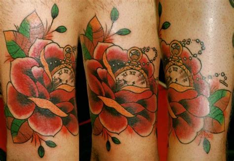 tattoo flower old school old school flower tattoo by extreme needle