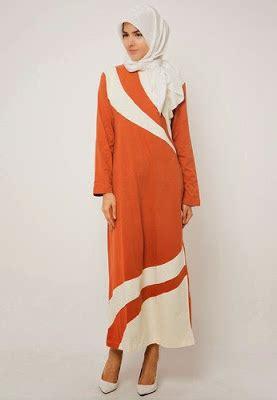 Gamis Maxy Sederhana Tapi Mempesona 25 contoh model baju muslim lebaran idul fitri kumpulan