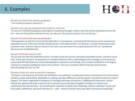cover letter best practices exle of a bad clich 233
