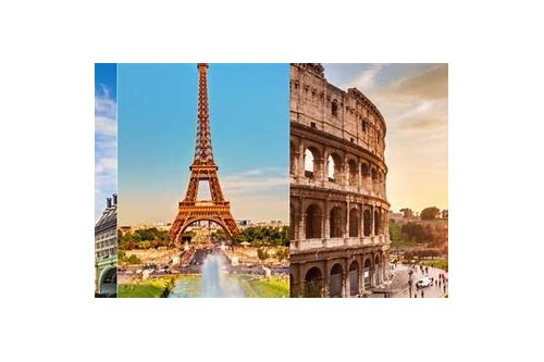 travel deals to paris and rome
