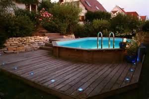 installation piscine bois hors sol aquamag