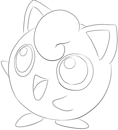 Jigglypuff Coloring Pages Free Coloring Pages Of Pokemon Jigglypuff by Jigglypuff Coloring Pages