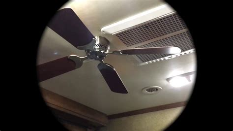 rv ceiling fan installation rv ceiling fan install youtube lights and ls
