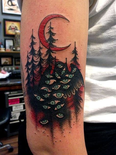 A Tattoo Inspired By Twin Peaks Tattoos Pinterest 12 Damn Peaks Tattoos