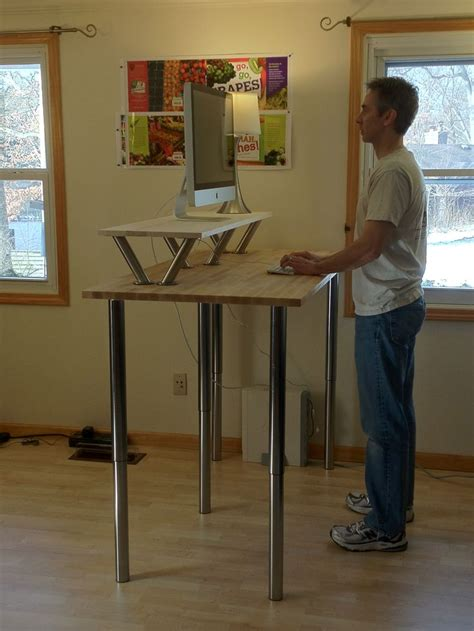 diy stand up desk ikea best 25 standing desks ideas on computer desk