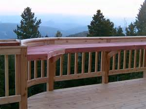 Deck Railing Bar Top by Outside Railing Bar On Outdoor Bars