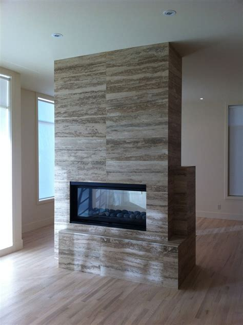 on location � how to detail a see through fireplace slow