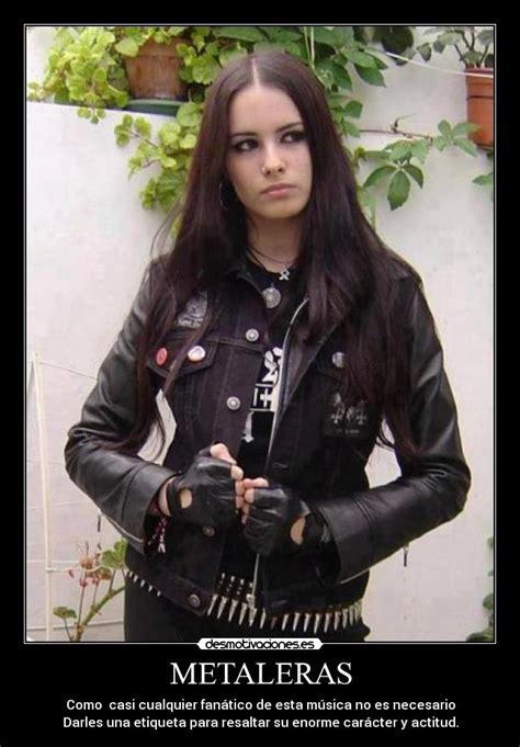 imagenes de mujeres rockeras y metaleras im 225 genes y carteles de metaleras desmotivaciones