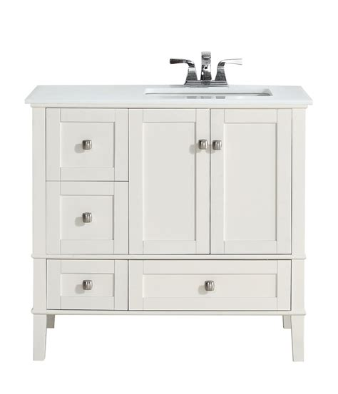 36 Vanity Top With Offset Sink 36 Inch Bathroom Vanity With Right Offset Sink