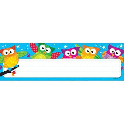 printable owl desk tags owl name tags memes