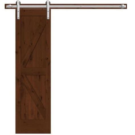 interior barn door hardware home depot steves sons 24 in x 84 in rustic 2 panel stained