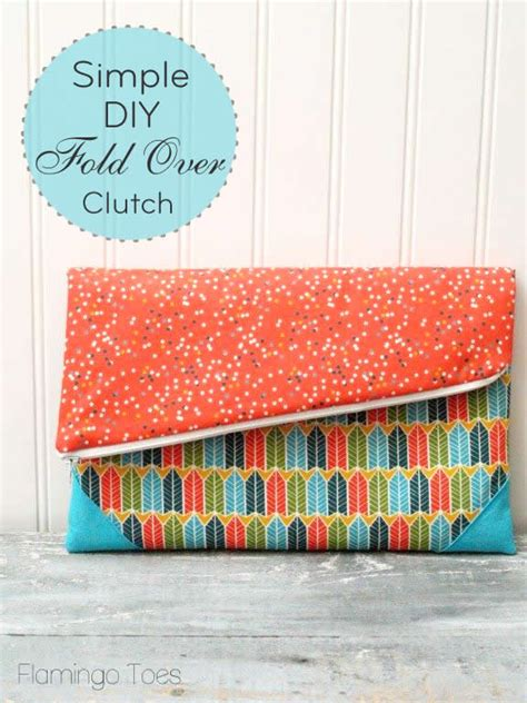 Clutch Simple someday crafts simple diy fold clutch