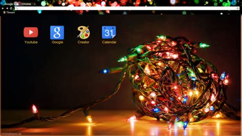 celebrate the holidays with these christmas chrome themes