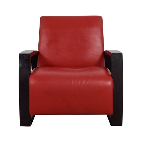 red leather chair with red leather accent chairs chairs seating