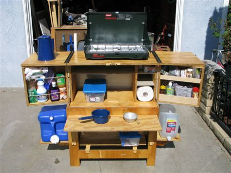 Build Your Own Kitchen Cabinets by Chuck Box Camp Kitchen
