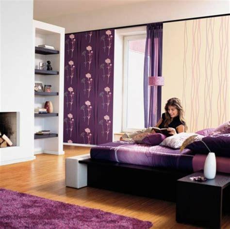 schlafzimmer für frauen lila schlafzimmer 31 kreative beispiele