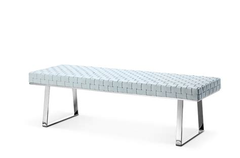 contemporary leather bench modern leather bench li03 modern dining