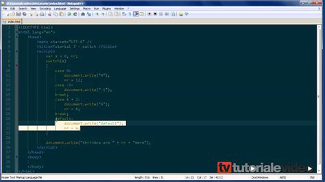 javascript tutorial html dog javascript 7 switch tutoriale video