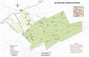 boyd s map of the boyd big tree preserve conservation area map newport pa