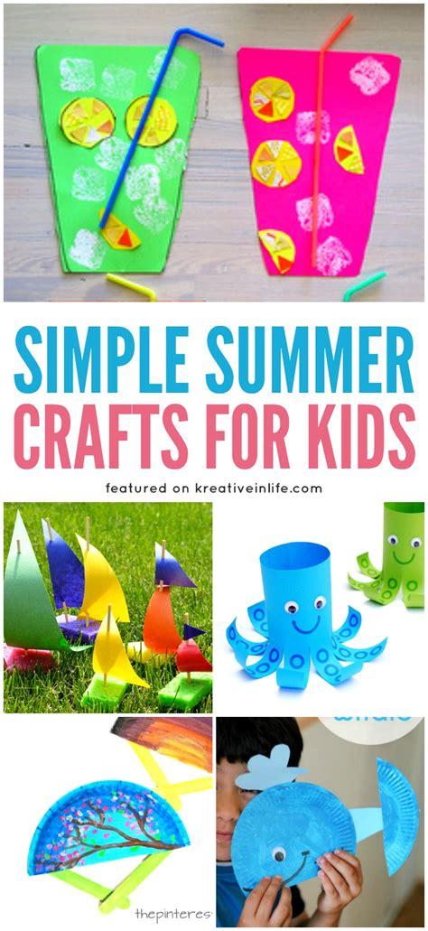 simple summer crafts for simple summer crafts for kreative in