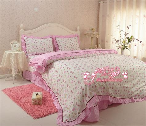 Pattern Bedding Sets Free Shipping Cotton Printed Bedding Set Home Spread Bedding Butterfly Pattern Bed Sheet
