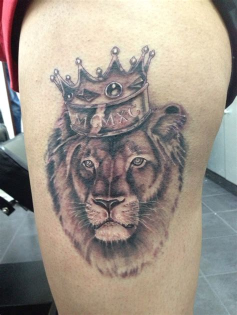 lion with a crown tattoo 1000 images about crown on