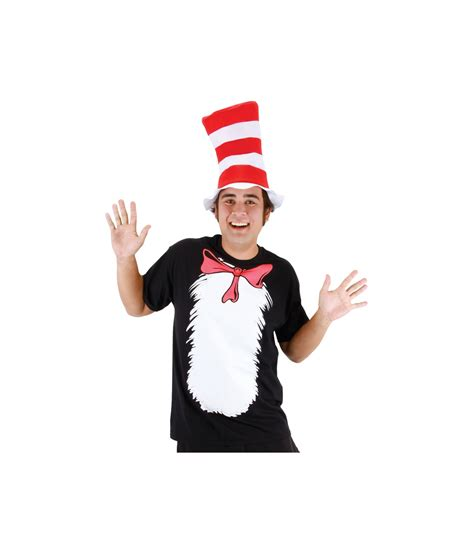 cat in the hat shirt and hat costume kit costume accessories