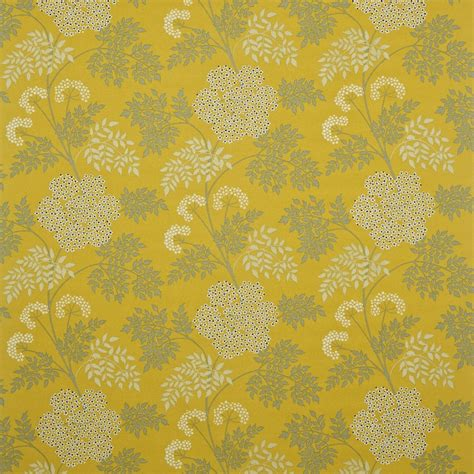 yellow curtain fabric gordon smith malvern ltd sanderson cowparsley chinese