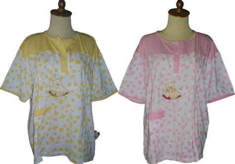Stelan Baju Tidur 3 4 All Size baju tidur gloria