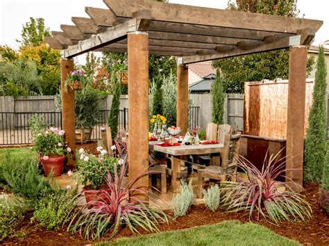 Hgtv Backyard Makeover by 15 Before And After Backyard Makeovers Hgtv
