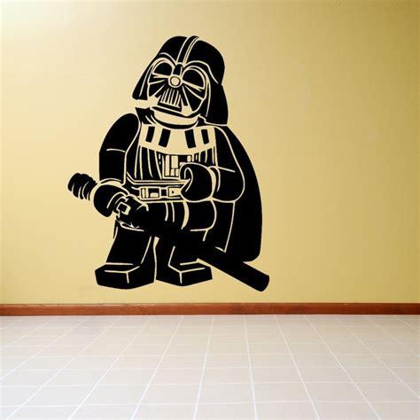 wars lego wall stickers lego wars darth vader vinyl wall decal sticker mural