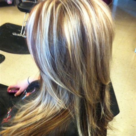 hairstyles with highlights underneath highlights blondes and honey on pinterest