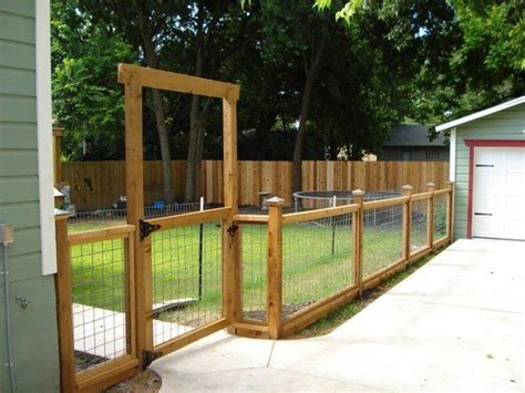 backyard fencing ideas for dogs welded wire fences welded wire wood fences design and landscape ideas i love