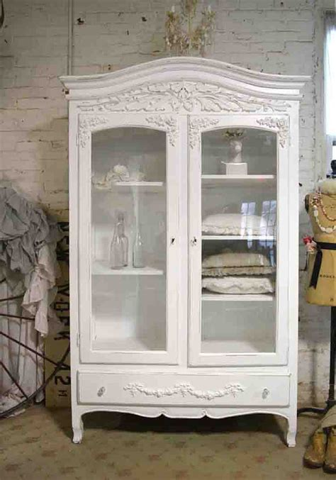 shabby chic wardrobe sale painted cottage chic shabby armoire wardrobe