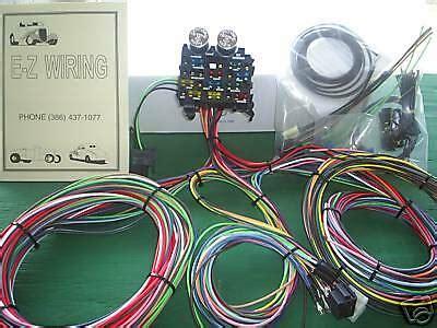 Ez Wiring 12 Circuit Standard Panel Wiring Harness Ebay