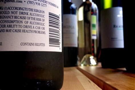 alimenti contengono solfiti vini e solfiti altrasalute
