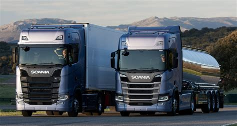 scania truck scania s generation s and r trucks unveiled