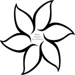 traceable flower templates pictures of flowers to trace clipart best