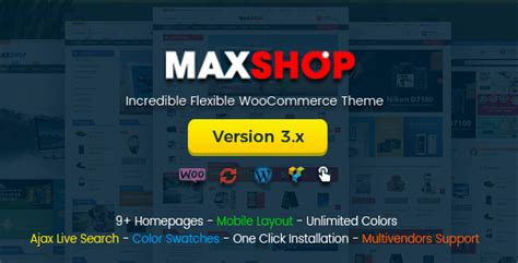 Maxshop Multi Purpose Responsive W00c0mmerce Theme V2 4 5 Maxshop V3 0 0 Multi Purpose Responsive Woocommerce