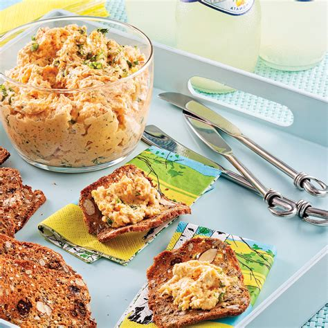 cuisine nordique recettes tartinade onctueuse aux crevettes nordiques recettes