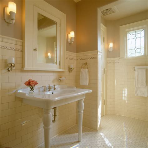 classic bathroom tile traditional bathroom tile and pedestal dhd traditional