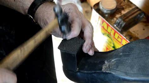shoe repair s shoe rubber heel
