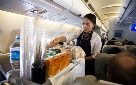ordering coffee  tea   plane
