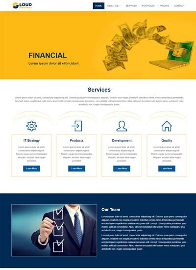 Latest Consulting Website Templates Free Download Business Website Templates Free