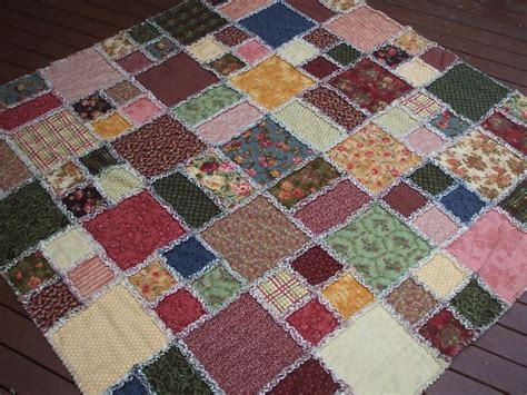 Free Rag Quilt Pattern by Free Rag Quilt Patterns This Was To Make But Wow