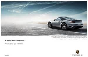 Porsche Magazine Ads Luxury Daily