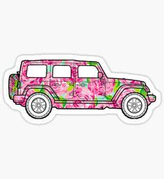 preppy jeep stickers floral jeep decal stickers pegatinas pinterest jeeps