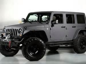 Jeep Wrangler Fenders For Sale Buy New 2013 Jeep Wrangler Custom Kevlar Paint Flat