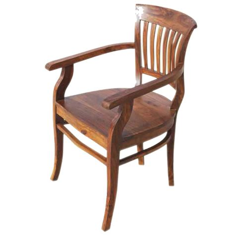 Wooden Dining Chairs With Arms Solid Wood Arm Dining Chair Furniture